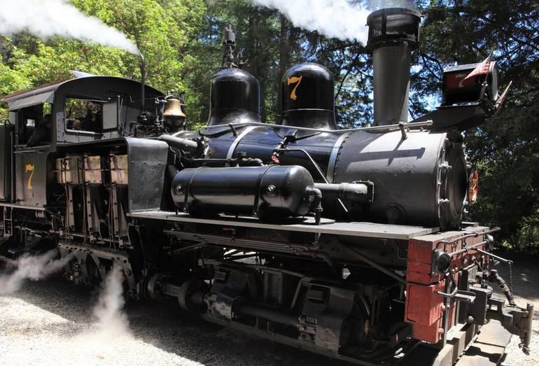 Roaring Camps Railway Santa Cruz Day Trip