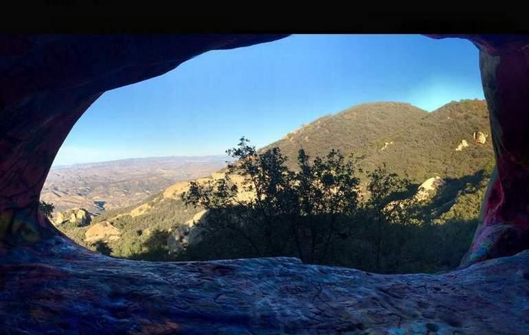 Jim Morrison Cave Corral Canyon