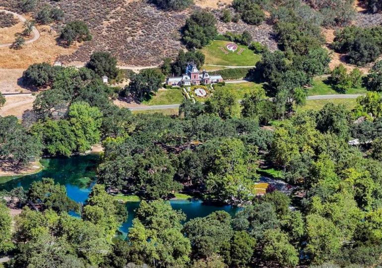 Birds Eye View Neverland Ranch