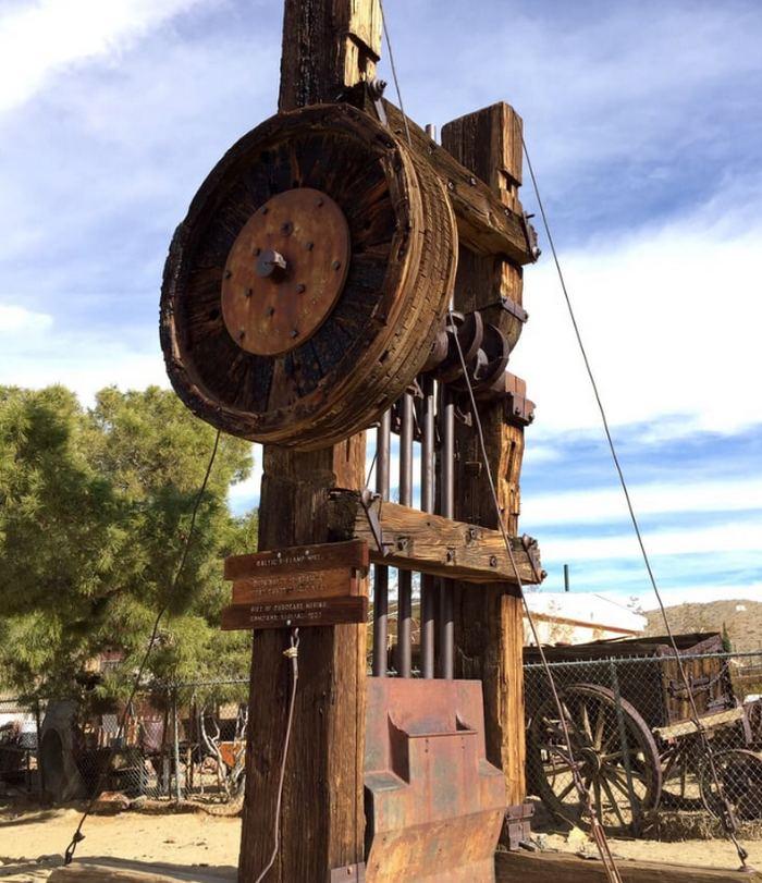 Rand Desert Museum Stamp Mill
