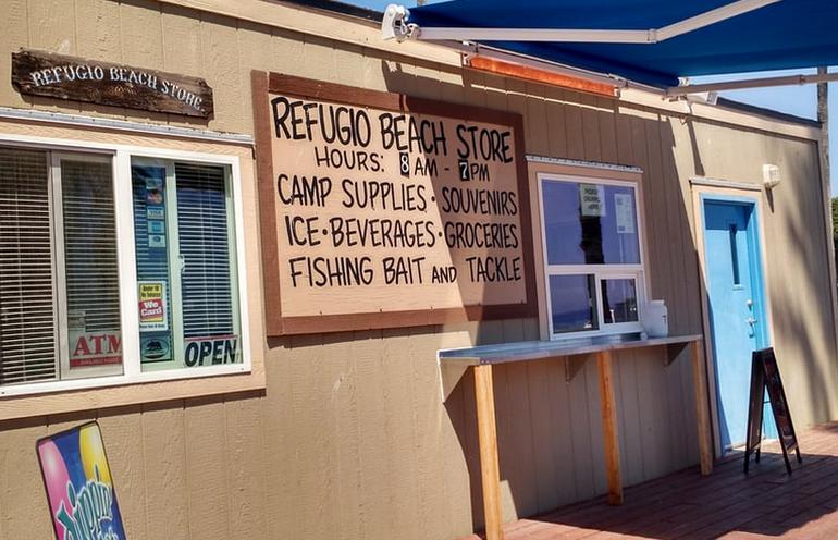 Refugio State Beach Store