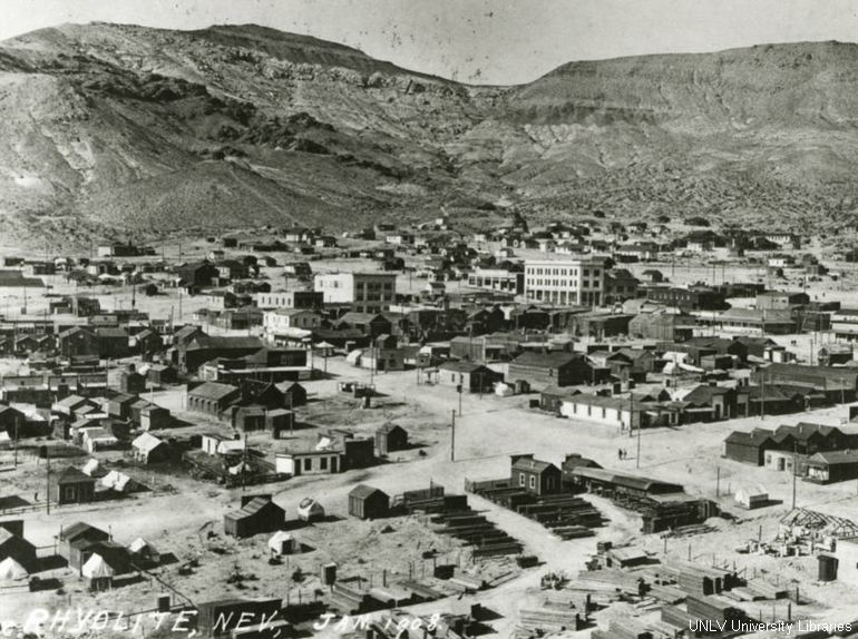 Rhyolite Nevada 1908