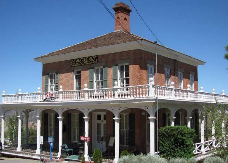 Mackay Mansion Museum Virginia City