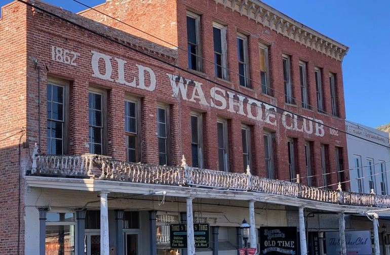 Washoe Club Museum & Saloon