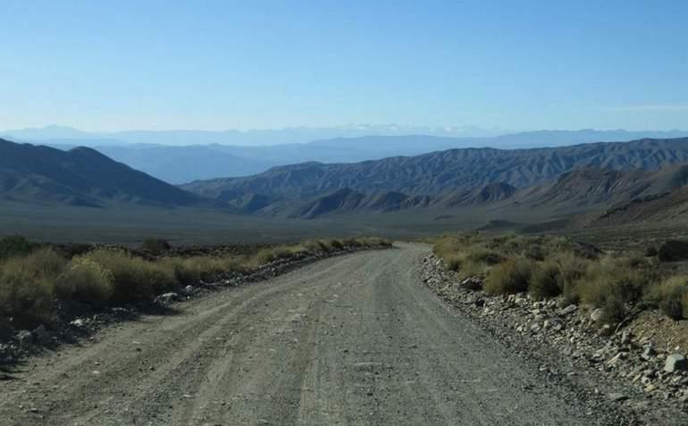 Wildrose Canyon Road