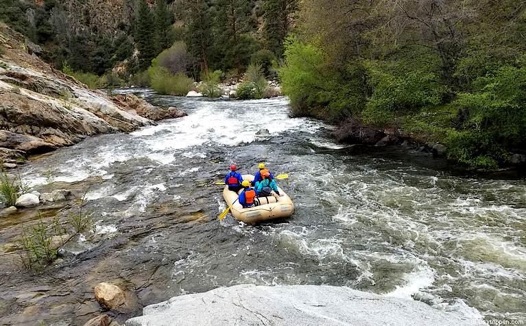 Kern River White Water Rafting