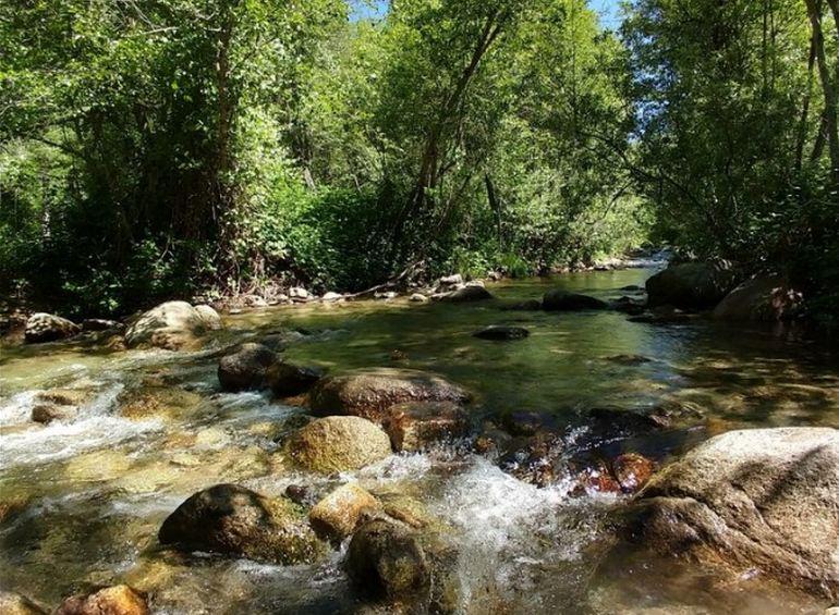 Yuba River California