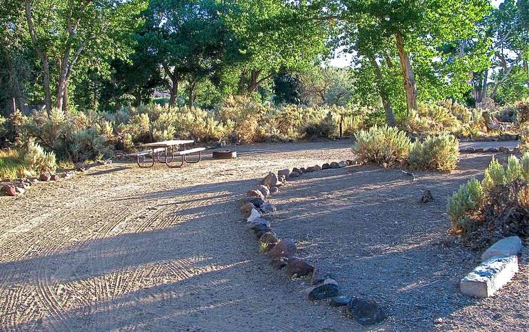 Fort Churchill Nevada Campground
