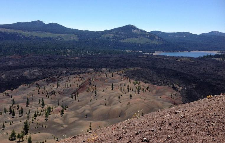 Cinder Cone Trail Lassen Volcanic National Park