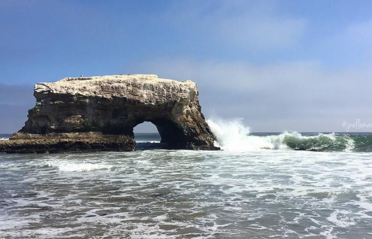 Natural Bridges State Beach San Francisco day trip