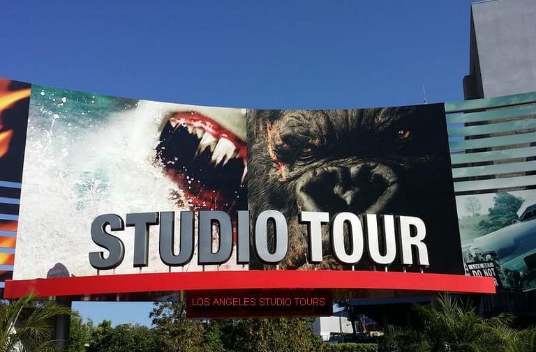 Los Angeles Movie Studio Tours