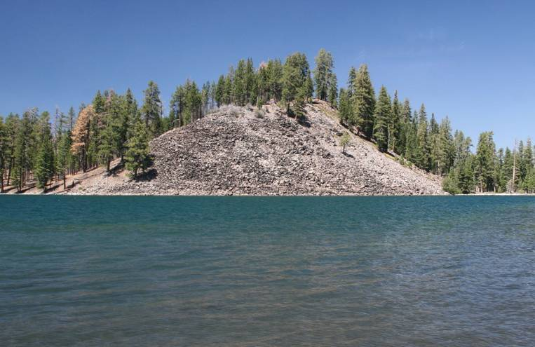 Butte Lake Northern California