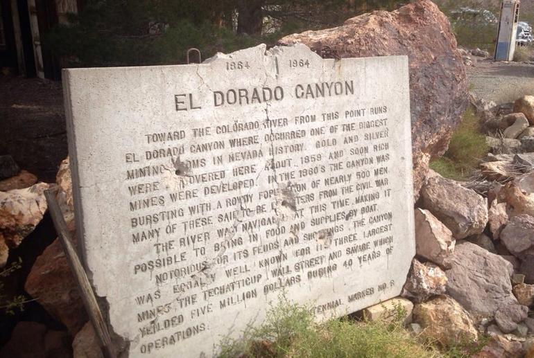 Eldorado Canyon History