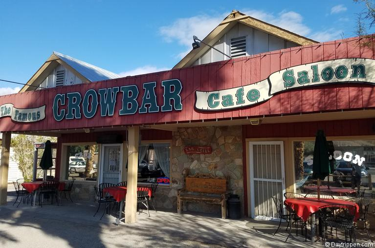 Crowbar Cafe and Saloon Shoshone CA
