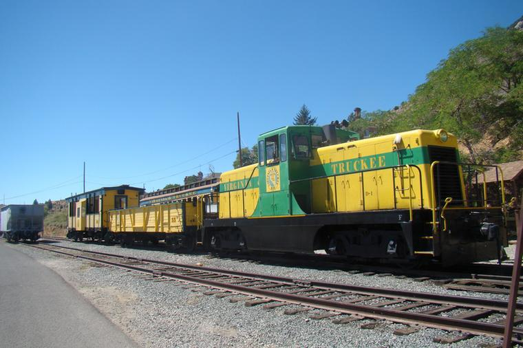 Places To Ride Trains in Nevada Historic Nevada Railroads