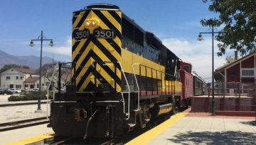 Places To Ride Trains in Southern & Northern California