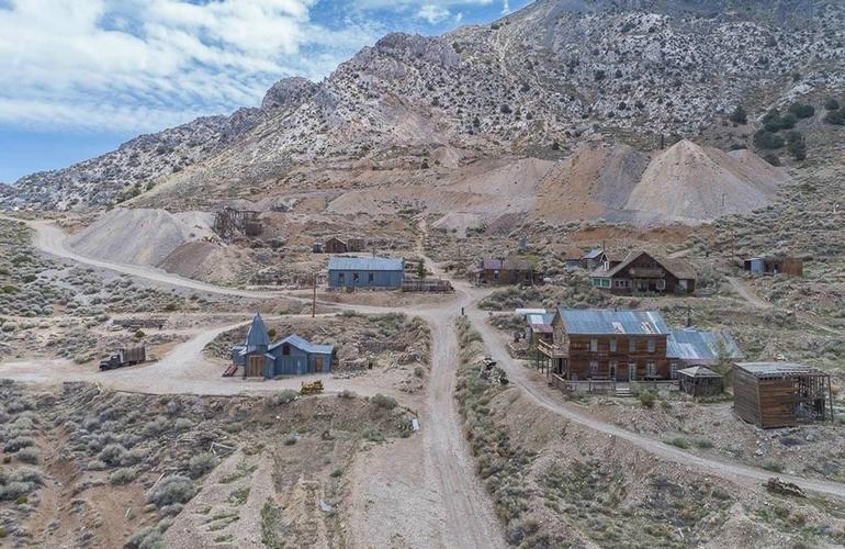 Cerro Gordo Ghost Town California