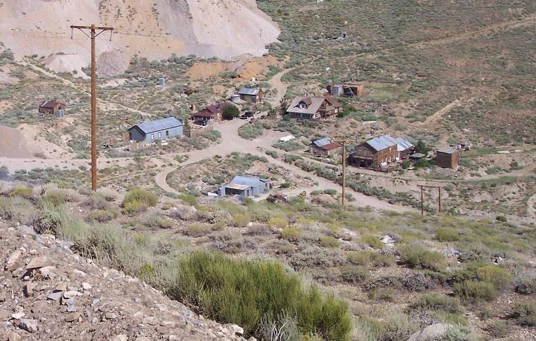 Cerro Gordo Ghost Town Owens Valley