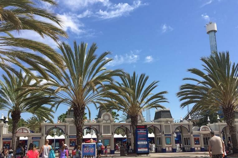 Theme Park Entrance Santa Clara