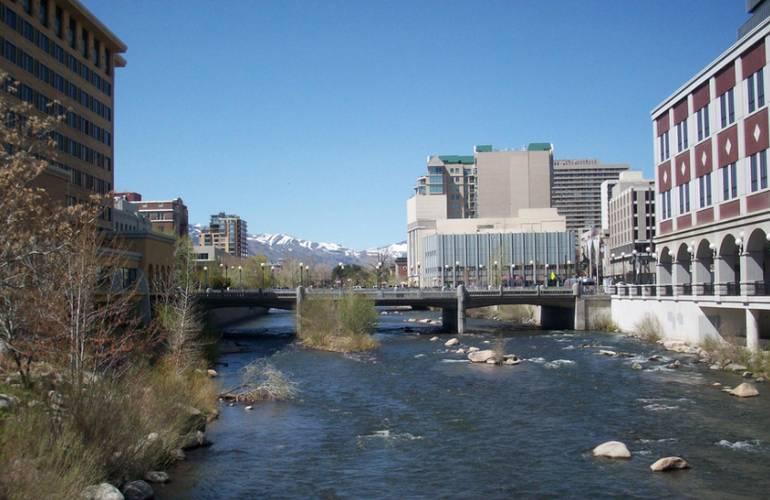 Truckee River Reno, Nevada