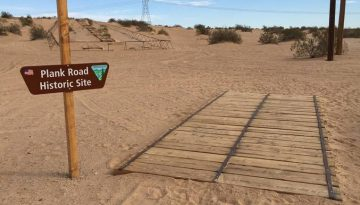 Old Plank Road Imperial Sand Dunes
