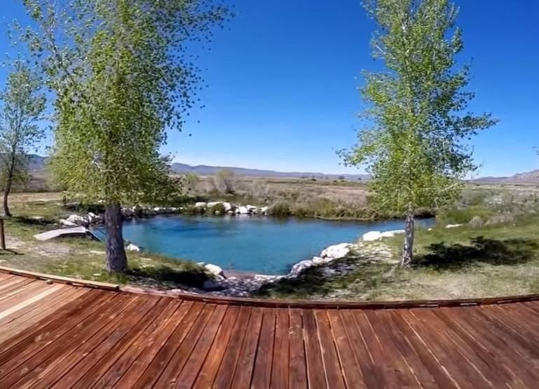 Big Warm Springs North Eastern Nevada