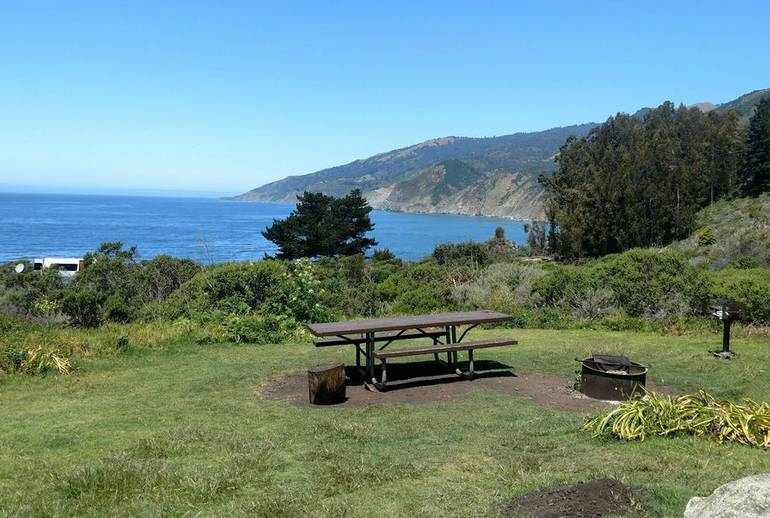 California Central Coast Beach Camping