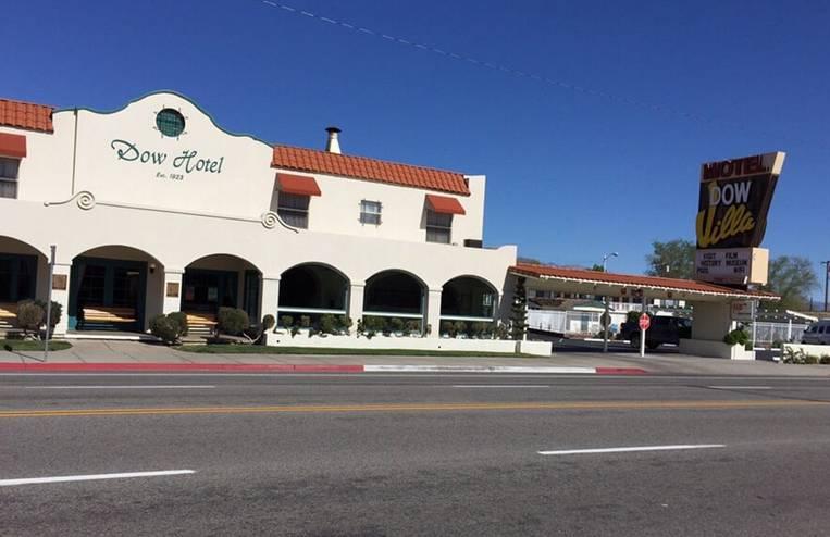 Dow Hotel Lone Pine CA
