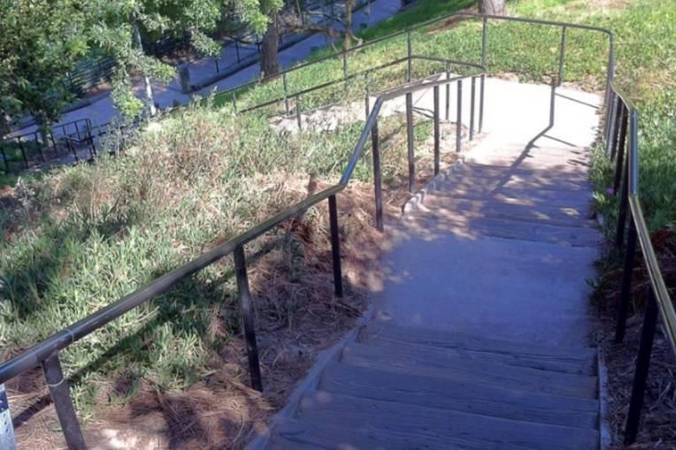 Sand Dune Park Stairs