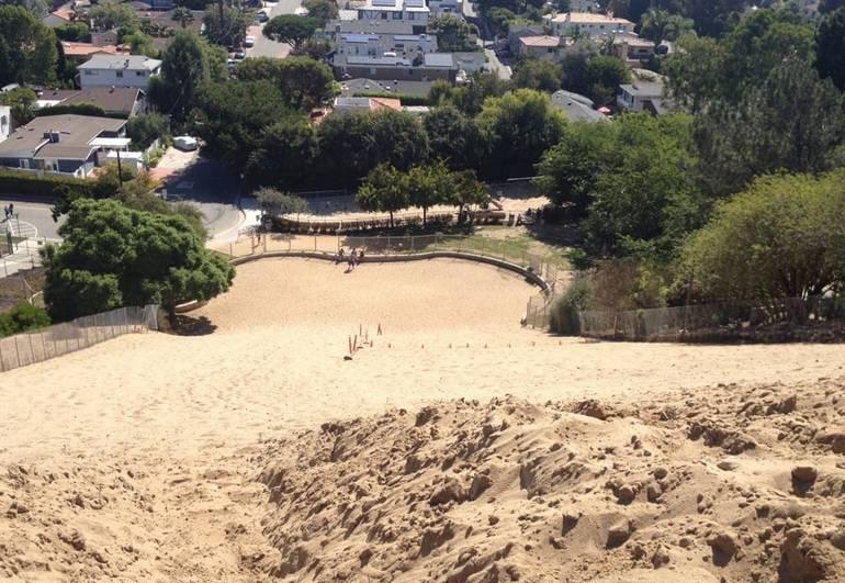 Top of Sand Dune Park Manhattan Beach