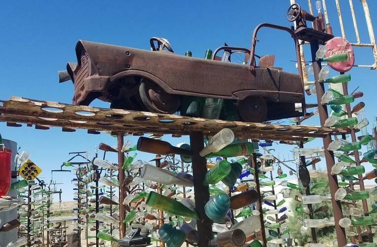 Elmer's Bottle Tree Ranch Roadside Attraction