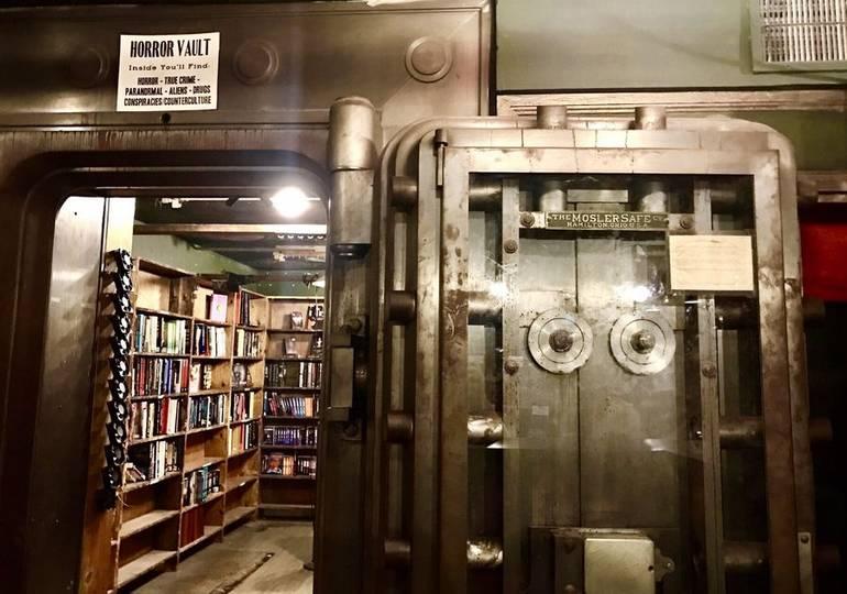 Last Bookstore Downtown Los Angeles Horror Vault