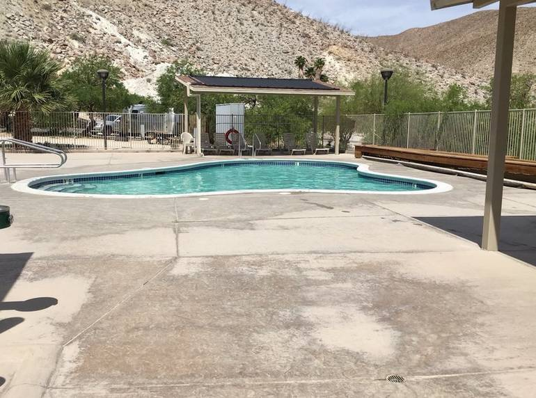 Agua Caliente Springs Park Hot Spring Pool