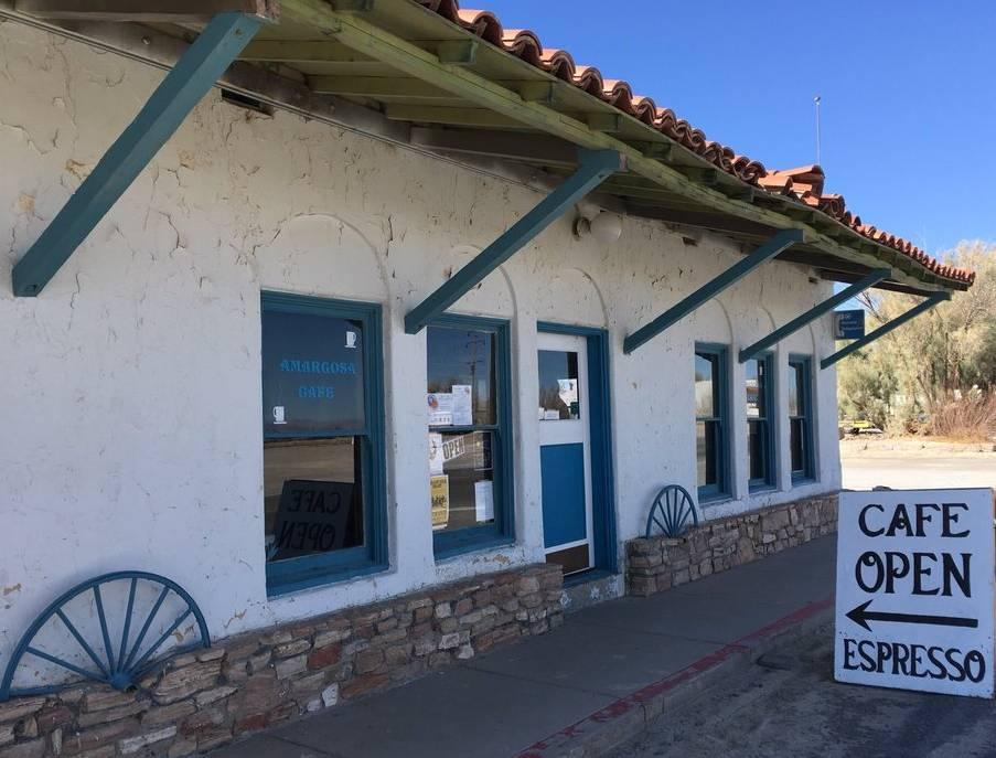 Death Valley Junction Amargosa Cafe