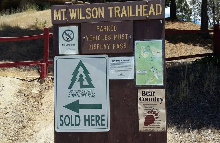 Mt Wilson Trailhead