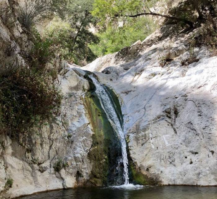 Switzer Falls Angeles National Forest