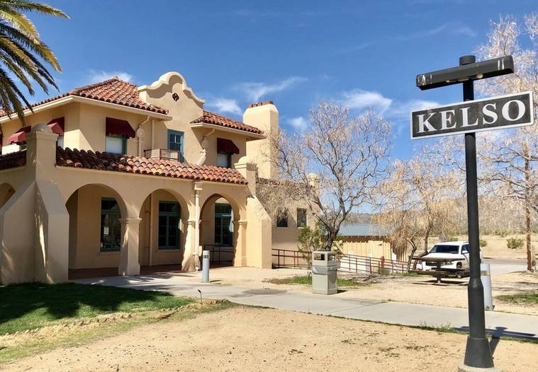 Kelso Depot Mojave National Preserve