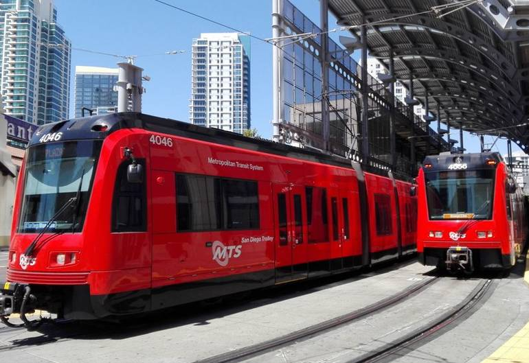 San Diego Red Trolley