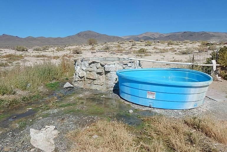 Kyle's Hot Springs Buena Vista Valley Nevada