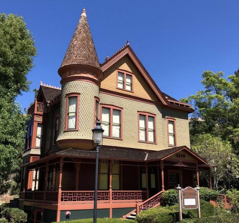 Heritage Park Victorian Village San Diego