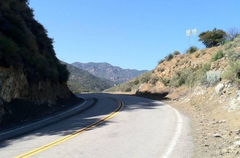 Mulholland Highway California