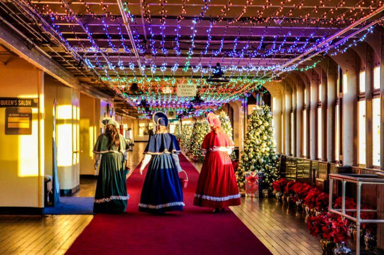 Queen Mary Christmas Long Beach