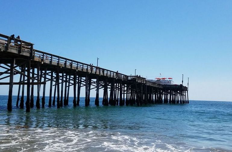 Balboa Pier Newport Beach California