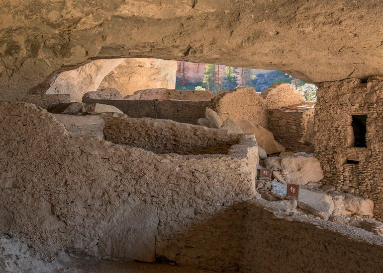 Gila Cliff Dwellings New Mexico