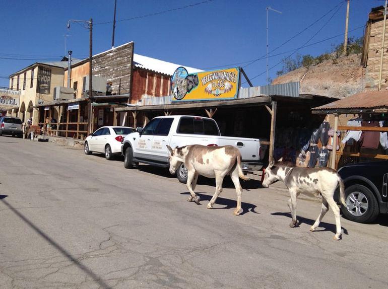 Oatman Ghost Town Route 66