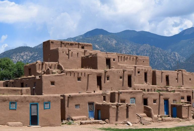 Taos Pueblo World Heritage Site