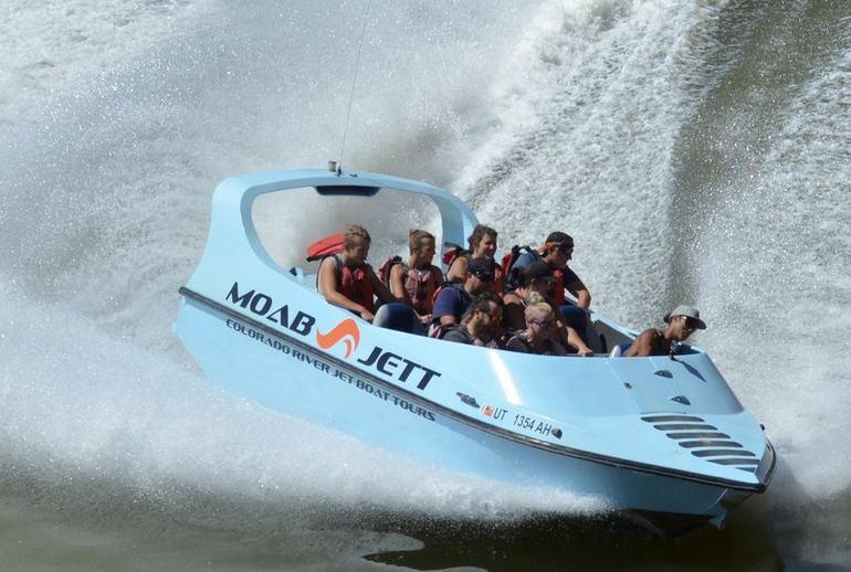 Jet Boat Tours Moab Utah
