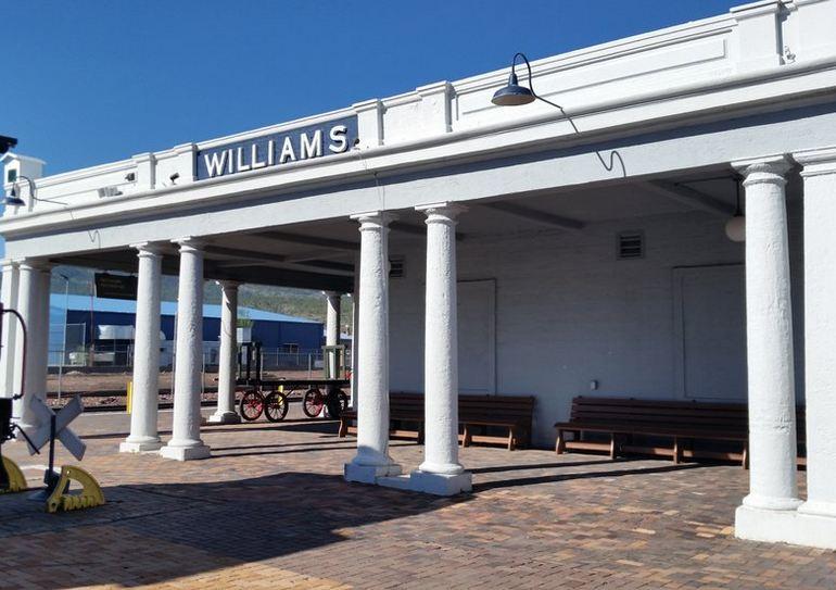Williams Arizona Train Station