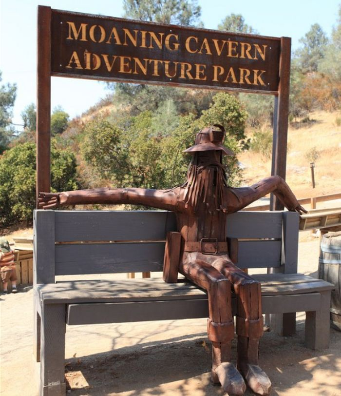 Welcome to Moaning Cavern Adventure Park