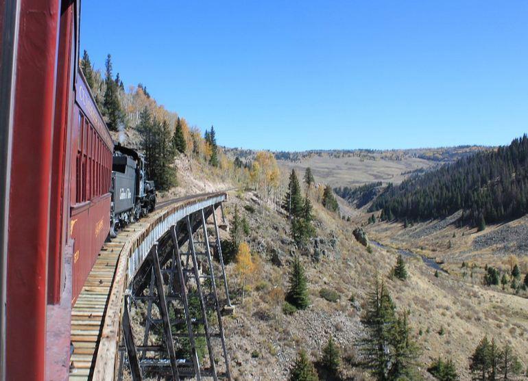 Crossing Train Trestle